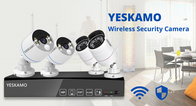 Best Wireless Security Cameras with Hard Drive