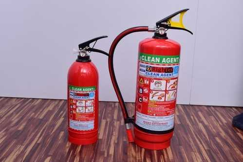 Clean Agent Extinguisher