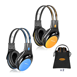 SIMOLIO IR Headphones with Volume Limiter