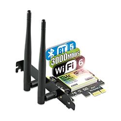 Ubit Wi-Fi 6 AX200 PCIe card