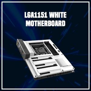 LGA1151 White Motherboard